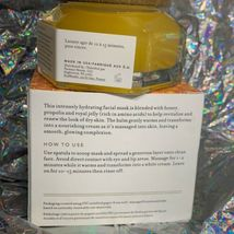 NIB FARMACY Set With Honey Potion Renewal Antioxidant Hydration Mask Full Size image 4