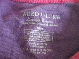 Infant girl's purple short sleeve top Size 18 mo. by Faded Glory  MKARL417 - $8.60