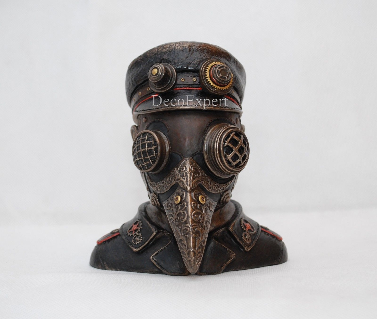 Steampunk Plague Doctor Casket * Free Shipping Everywhere *