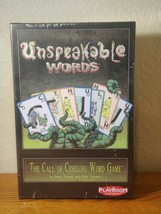 Unspeakable Words: The Call of Cthulhu Word Game [Card Game, Playroom] NEW - $9.89