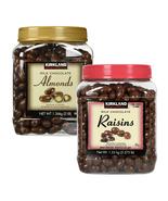 Milk Chocolate Covered Roasted Almonds or Raisins KIRKLAND Signature 1.3... - $55.92+