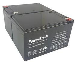 POWERSTAR PowerStar2 Pack D5775-UB12120 12V 15AH Sealed Lead Acid Batter... - $75.46
