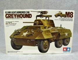Tamiya U.S.M8 Light Armored Car Greyhound Military 1/35 Model Kit New! - $29.69