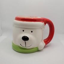Holiday Mug Christmas Polar Bear, Ceramic Dolomite, 15oz, Royal Norfolk