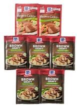 (7) McCormick GLUTEN FREE Brown Gravy Seasoning Mix Spices lot packs BB ... - $27.67