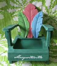 Yankee Candle Margaritaville Palms Adirondack Chair Square Jar Candle Ho... - $24.00