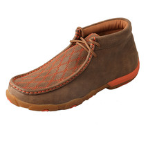 Women's Twisted X Orange Driving Mocs D Toe - WDM0036 - $104.95