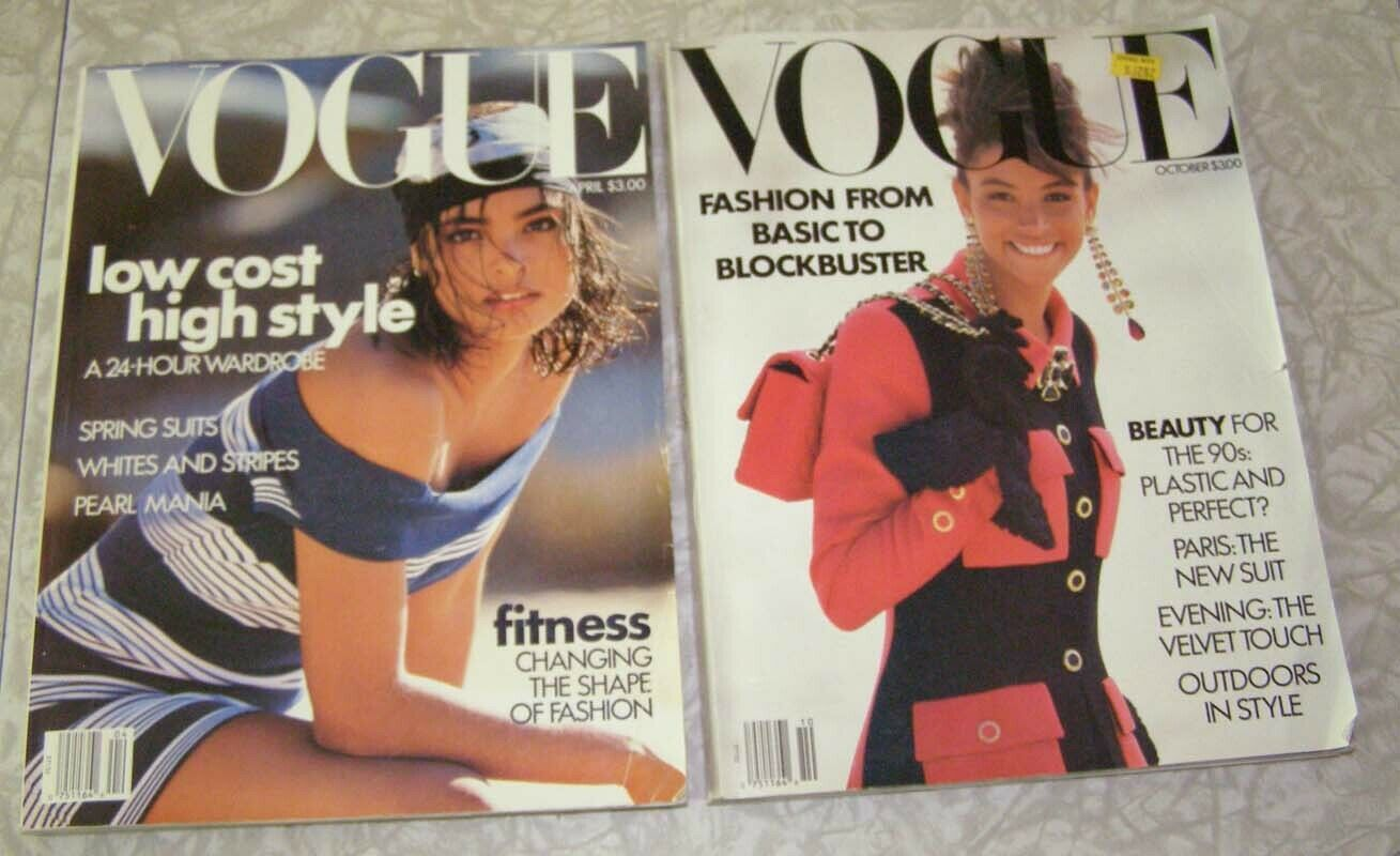 Primary image for Vogue April October 1989