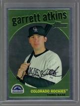 2008 TOPPS HERITAGE CHROME C161 GARRETT ATKINS 133/1959 ROCKIES - $1.99