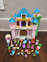 Disney Animators Collection Littles Playset Lot with Aurora's Deluxe Castle - $96.57