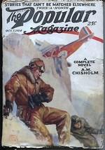 Popular Magazine 10/7/1924-Aviation cover-Dane Coolidge-pulp stories-VG- - $63.05