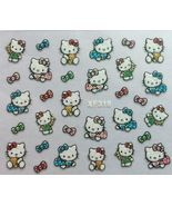 BANG STORE Nail Art 3D Glitter Decal Stickers Hello Kitty Baby Teddy Bea... - $3.68