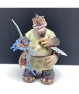 Star Wars action figure Kenner vintage loose toy 2002 Dexter Jettster co... - $17.82