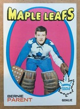 1971-72 Topps #131 Bernie Parent Hockey Card NM Condition Toronto Maple ... - $14.99
