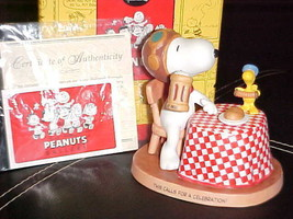 Hallmark Peanuts Here's To You Figurine Mint With Box 2nd Edition - $59.39