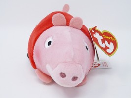 Teeny Ty Mini Soft Plush Stuffed - New - Peppa Pig - $8.54