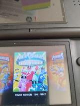 Nintendo Game Boy Advance GBA Power Rangers: Time Force & Ninja Storm Combo Pack image 2
