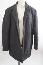 VINCE CAMUTO | Car Coat with Removable Bib men's jacket sz L $198+ gray - $98.99