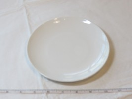 "Corning Centura White Coupe Bread Dessert Plate 6 5/8"" 1 Plate Vintage ! - $13.60"