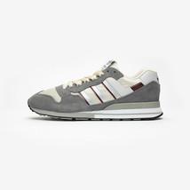 Adidas Original Herren Spezial ZX530 Turnschuhe Grau/Weiß/Weinrot Schuhe - $138.63