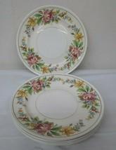 "Vintage Set 6 Homer Laughlin Eggshell Georgian 9"" Dinner Plates B41N5 Near Mint - $143.95"