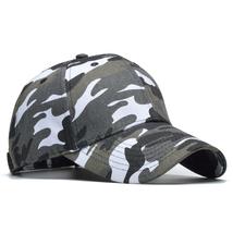 Camouflage Baseball Cap Snow And Jungle Camo Snapback Caps Bone Masculin... - $24.17