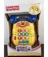 FISHER Price BABY-SMARTRONICS Speak n TEACH Phone. - $11.88