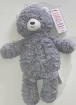 "Carter's Just One You 12"" Gray Super Soft Bear Teddy Bear Plush Toy Oeko... - $17.99"