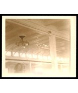 Abstract Photo Ceiling Light Fixture Bulbs Beams Geometric Design Obscur... - $18.99