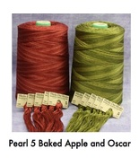 FLOSS BUNDLE WDW Pearl 5 (2 skeins total) new colors Weeks Dye Works - $7.20