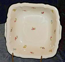 Square Serving Dish by Johann Haviland Barvaria AA20-2368A Vintage