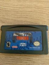 Nintendo Game Boy Advance GBA Monster Trucks image 2