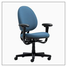 Steelcase Criterion High-Back Work Chair by Steelcase, color = Sky - $1,123.00