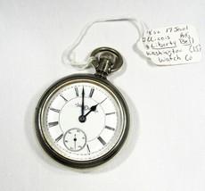 Vintage Estate Illinois 17 Jewel Washington Liberty Bell Pocket Watch C2215 - $188.57