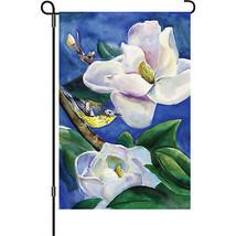 "Magnolia Warbler Brilliance (13"" x 18"" Approx ) Garden Size Flag..4... P... - $9.99"