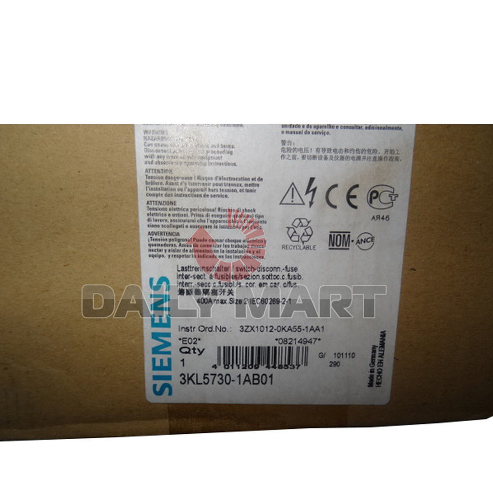 New In Box Siemens 3kl5730 1ab01 Switch And 50 Similar Items Fuse S L1600