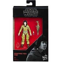Star Wars 2017 The Black Series Resistance Tech Rose (The Last Jedi) Act... - $8.90