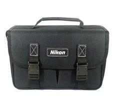 Nikon Midi BAG DSLR camera shoulder carrying case Partition Used Nikon Logo image 2