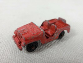 Tootsie Toy Red Jeep - $18.00