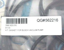 NEW BUSCH 0990.925.016 GASKET KIT FOR VACUUM PUMP 0990925016 image 2