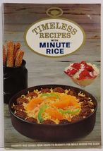 Timeless Recipes with Minute Rice General Foods Kitchens - $3.75