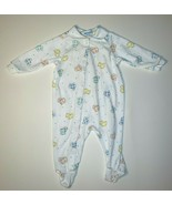 VINTAGE CARTER'S BABY PASTEL PAJAMAS OUTFIT DUCKS BUNNY LAMB FOOTED SLEE... - $23.38