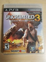 PS3-Uncharted 3:Drake's Deception (Sony Playstation 3, 2011) with manual - $4.94