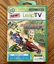 LeapFrog LeapTV Kart Racing Supercharged Active Learning Video Game 5-8 ... - $16.83