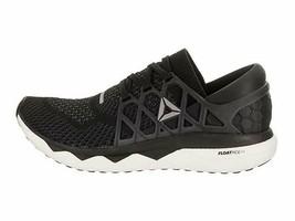 Reebok men's  Floatride Run Ultk Running Shoe Black/Gravel/White - $114.74