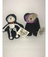 """Ganz Wee Bear Village Skelton Esmerelda Witch Set of 2 NEW Halloween 4"""" - $29.02"""