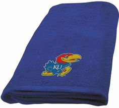 University Of Kansas Jayhawks Hand Towel dimensions are 15 x 26 inches - $16.95