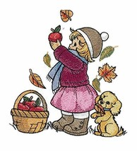 Weaved in Threads, Amazing Kids Childhood Charm - {Picking Apples ][Custom and U - $12.87