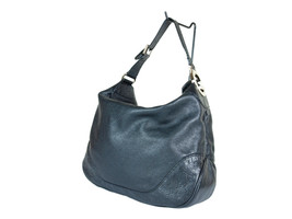 GUCCI Guccissima Leather Black Shoulder Bag GS2217 - $369.00