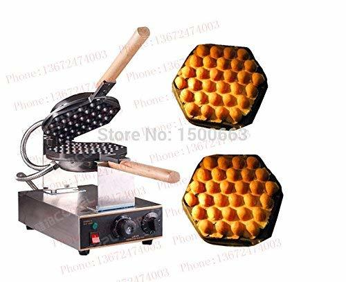 Primary image for ~egg waffle maker machine with 6 gifts!! 220V 110V Hong kong Egg puff machine